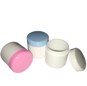 粉藍、粉紅面霜盒