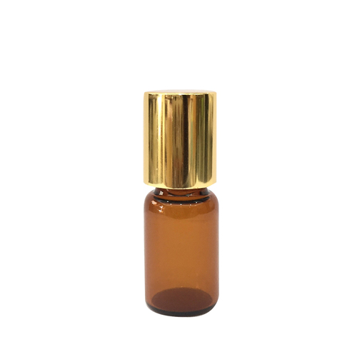 茶色滾珠瓶-金蓋